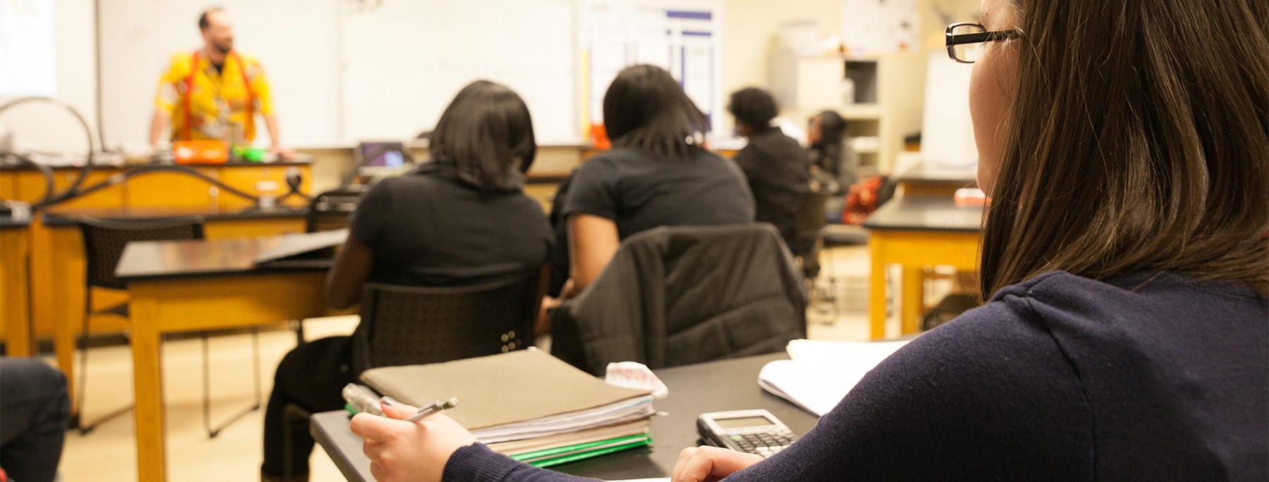 Indianapolis Metropolitan High School Classroom